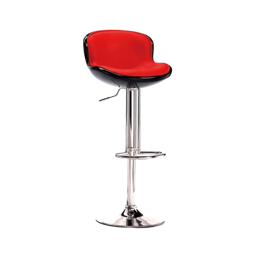 品家居 藍恩達皮革升降吧台椅(四色可選)-45x50x85cm免組