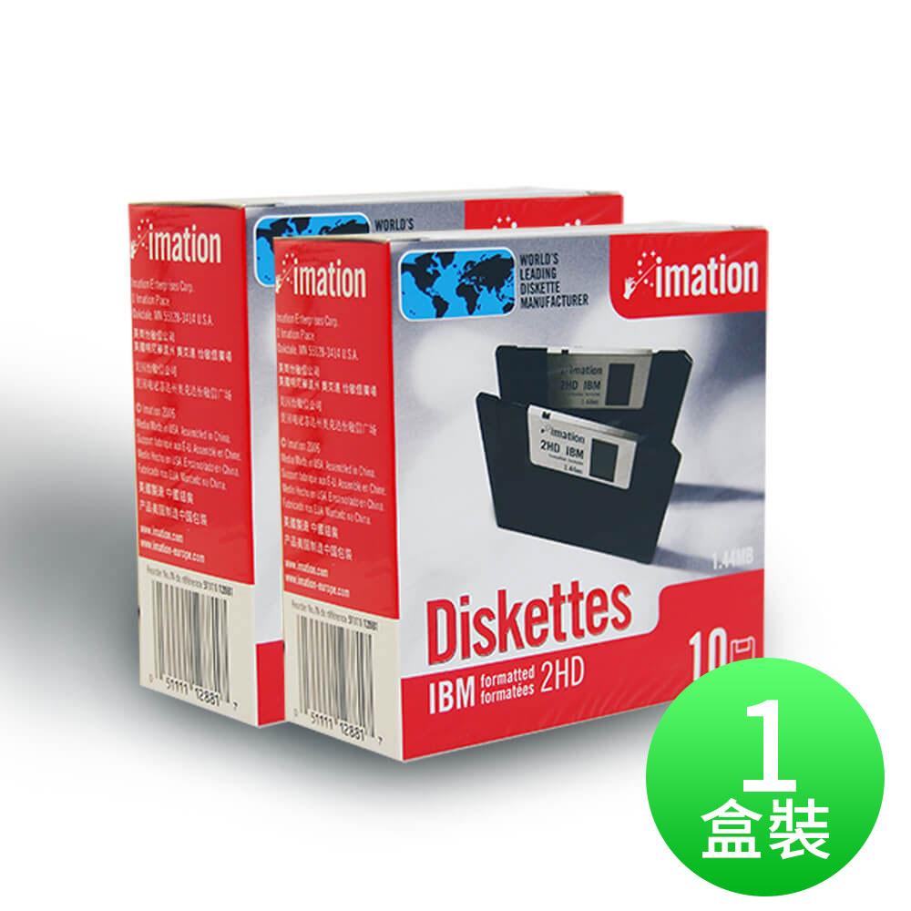 【IMATION】3.5吋 1.44MB磁碟片 10片裝(一盒)