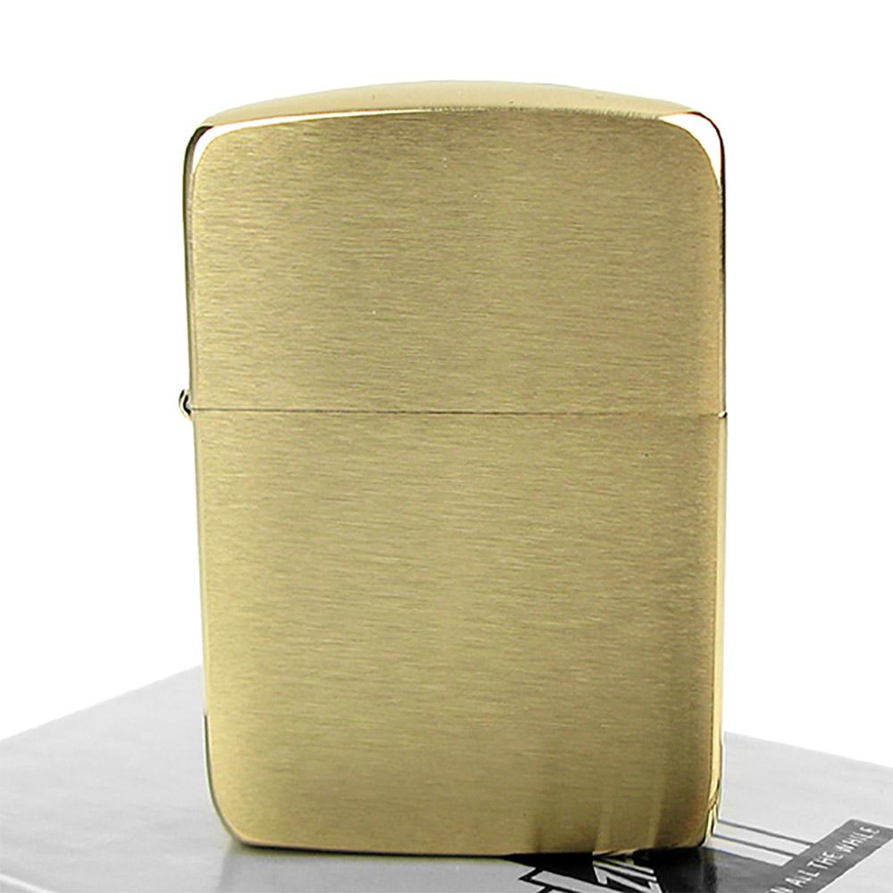 【ZIPPO】美系~1941 復刻版打火機~(金色)拉絲打磨純銅款