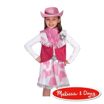 美國瑪莉莎 Melissa & Doug 角色扮演 - 女孩牛仔服遊戲組