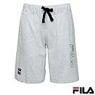 FILA 男款針織短褲-麻灰1SHR-1412-MY