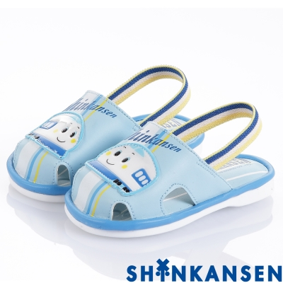 ShinKanSen新幹線 舒適減壓防滑嗶嗶學步童鞋-水(幼童)