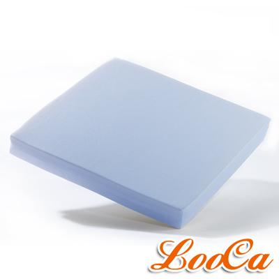 LooCa 吸濕排汗釋壓座墊(粉藍)