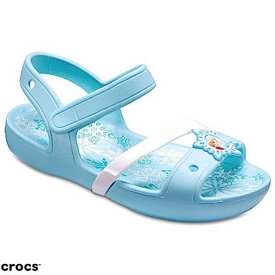 Crocs 卡駱馳 (童鞋) 冰雪奇緣聯名款涼鞋 205016-4O9