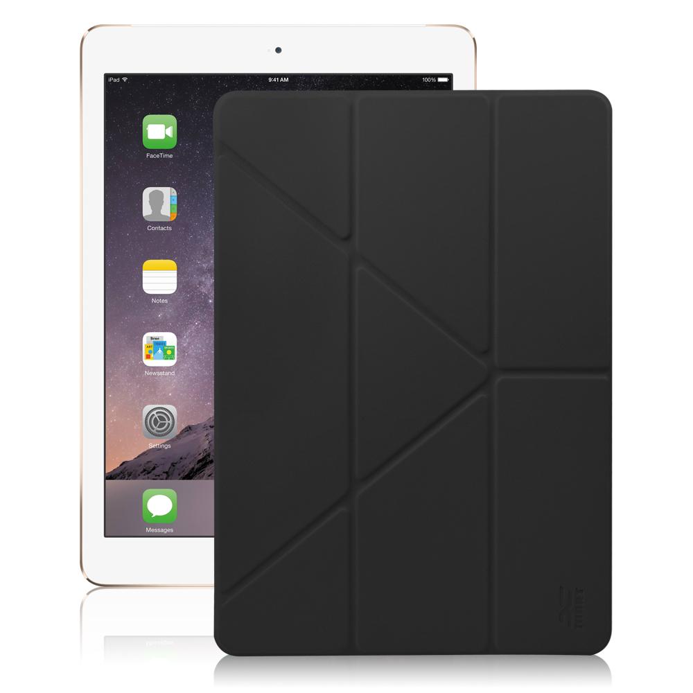 XM Apple iPad Air2 9.7吋 清新簡約超薄Y折皮套