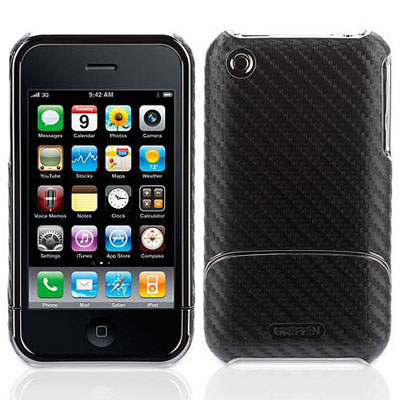 Griffin Elan Form Graphite iPhone 3GS合成纖...
