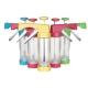 PUSH!廚房用品 花式餅乾壓花機餅乾模具模裱花嘴裱花器烘焙工具D53-2黃色 product thumbnail 1