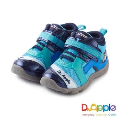 Dr. Apple 機能童鞋 字母流線剪裁閃亮童鞋款 藍