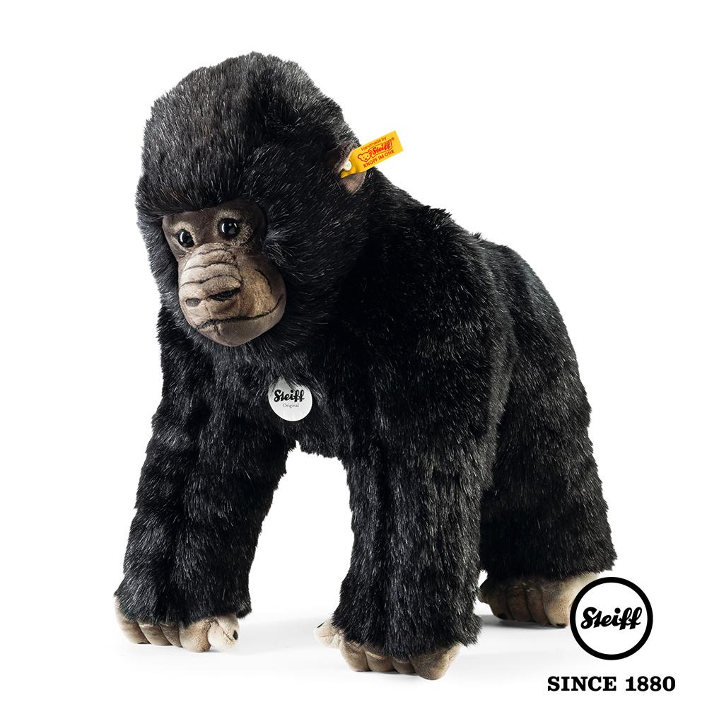 STEIFF德國金耳釦泰迪熊 - 猩猩 Goran Gorilla (動物王國)