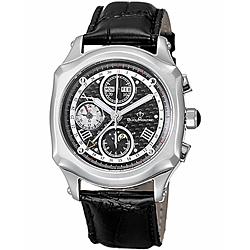 BijouMontre寶爵皇家印記 Royal Seal 機械計時腕錶-黑/40mm