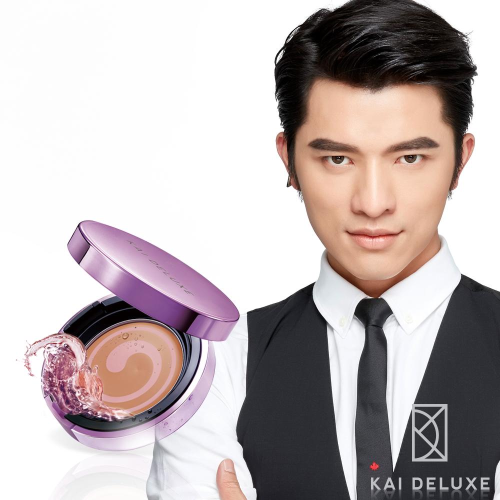 KAI DELUXE 玫瑰光潤爆水粉餅12g