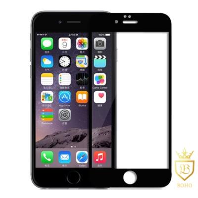 [BOHO]完全保護 2.5D滿版鋼化玻璃保護貼 9H iPhone 8Plus