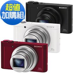 SONY DSC-WX500 全新翻轉自拍 WiFi 數位相機(公司貨)