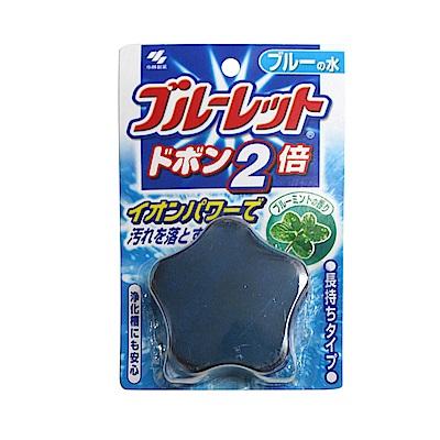 小林製藥 星星藍流馬桶清潔錠-藍色薄荷香(120g)