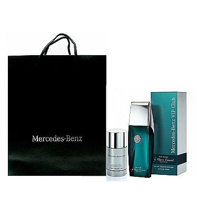 Mercedes Benz  碧海藍天淡香水 100ml 搭贈體香膏75g + 紙袋