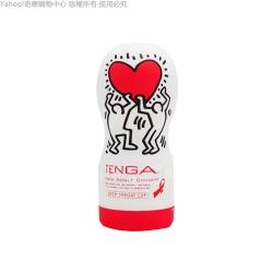 日本TENGA x 美國Keith Haring 真空吸吮口交杯KHC-101