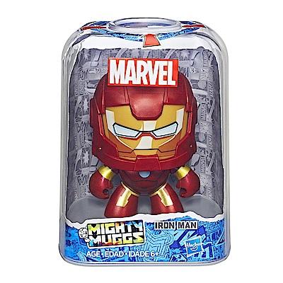 孩之寶 Marvel漫威英雄 酷頭玩偶 Iron Man 鋼鐵人 變臉公仔