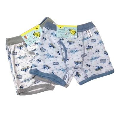 LOVIN BABY 一王美星星摩托車男童內褲-6件組