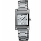 CASIO 知性方采氣質型女錶腕(LTP-1237D-7A)-數字刻X銀白