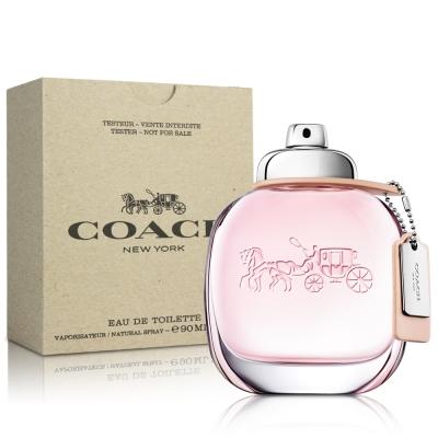 COACH 時尚經典女性淡香水TESTER90ML 送品牌針管
