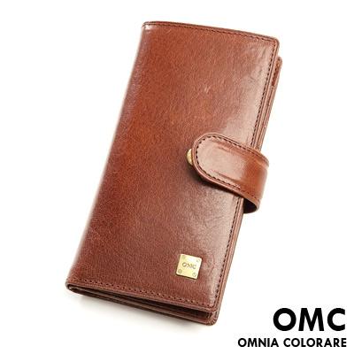 OMC - 韓國原皮魅力真皮款20卡收納包