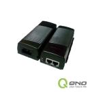 QNO俠諾 QPE1011G Giga 15W PoE供電器