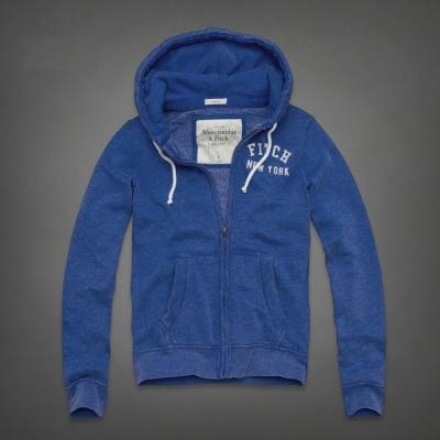 AF a&f Abercrombie & Fitch 外套 藍色 0214