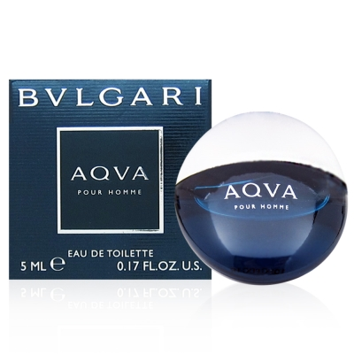 BVLGARI寶格麗 AQVA水能量男性淡香水5ml