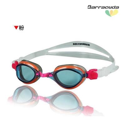 美國Barracuda巴洛酷達兒童競技型抗UV防霧泳鏡 JR#73855