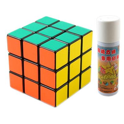 台灣製造~專業競技版3X3面魔術方塊(贈專用矽油)