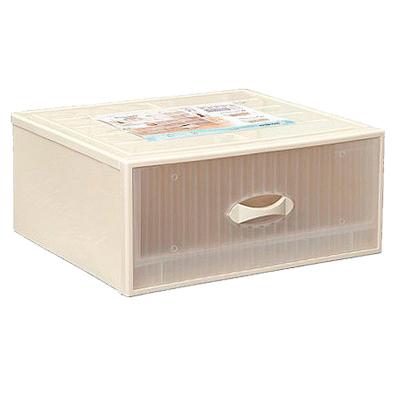 【簡約主義】34.5L單抽式 抽屜整理箱-2入