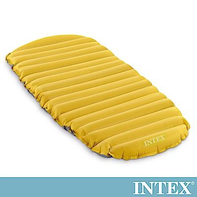 INTEX 登山單車露營專用輕量充氣床墊/睡墊-76cm(68708)