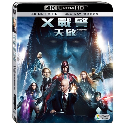 X戰警:天啟 UHD+BD(雙碟限定版) 藍光 BD