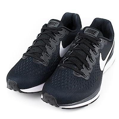 NIKE-AIR ZOOM女慢跑鞋880560001-黑