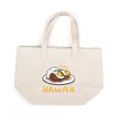Sanrio 蛋黃哥美國版夏威夷系列帆布便當袋(LOCOMOCO白)