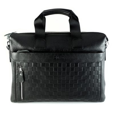 Valentino Rudy 雅士格子紋電腦公文包Z8212-12N 加值隨機贈送休閒皮帶