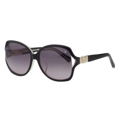Kate Spade-蝴蝶結造型 太陽眼鏡 (黑色)