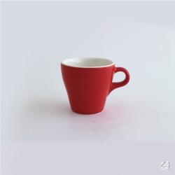 日本 ORIGAMI 摺紙咖啡陶瓷卡布杯180ml(10色可選)