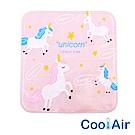 CoolAir 涼感降溫冰涼墊/坐墊 (粉色獨角獸)