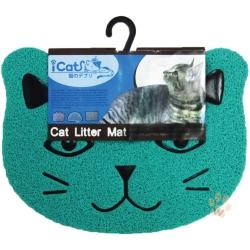 寵喵樂-可愛造型貓頭貓砂墊