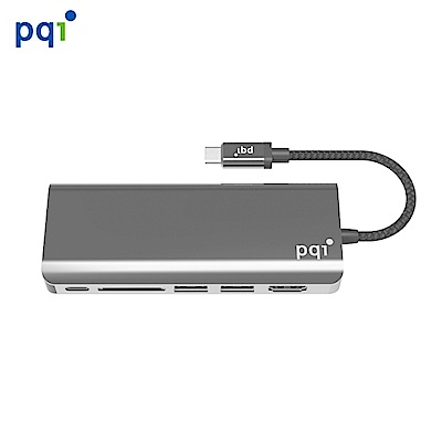 PQI Type-C Hub 6 Port 多功能金屬集線器