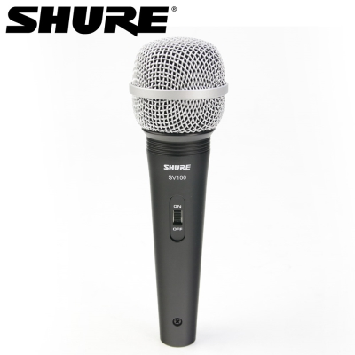 SHURE SV100 心型動圈式麥克風 唱歌錄音專用