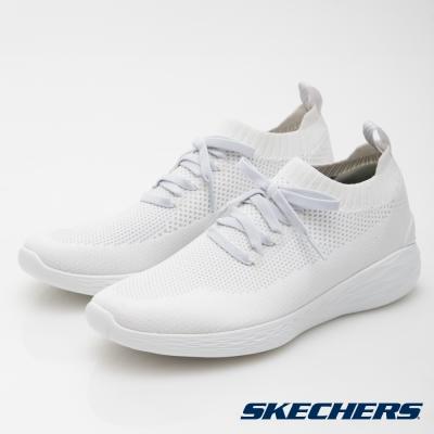 SKECHERS (男) 健走系列 GO STRIKE -  54210 WHT