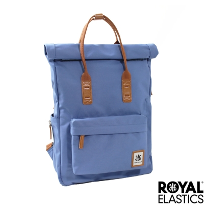 Royal Elastics - 捲蓋式小型後背包 - Rainbow彩虹甜心- 藍色