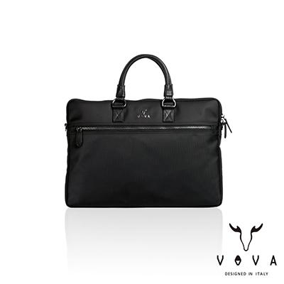VOVA - 熱那亞系列型男款公事包 - 經典黑