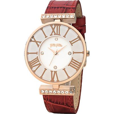 Folli Follie DYNAST 時尚教主腕錶 WF1B029SSS-RE