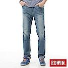 EDWIN AB褲 迦績褲JERSEYS涼感牛仔褲-男-石洗藍