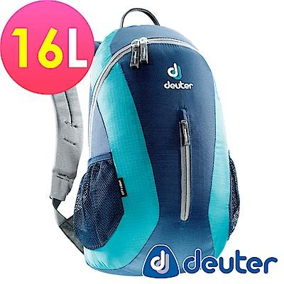 【ATUNAS 歐都納】德國DEUTER 運動休閒旅遊後背包16L / 80154 深藍