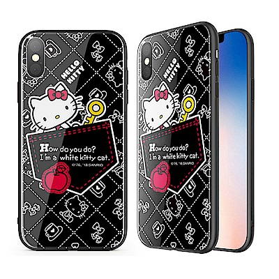 iStyle iPhone X Hello Kitty 口袋手機殼