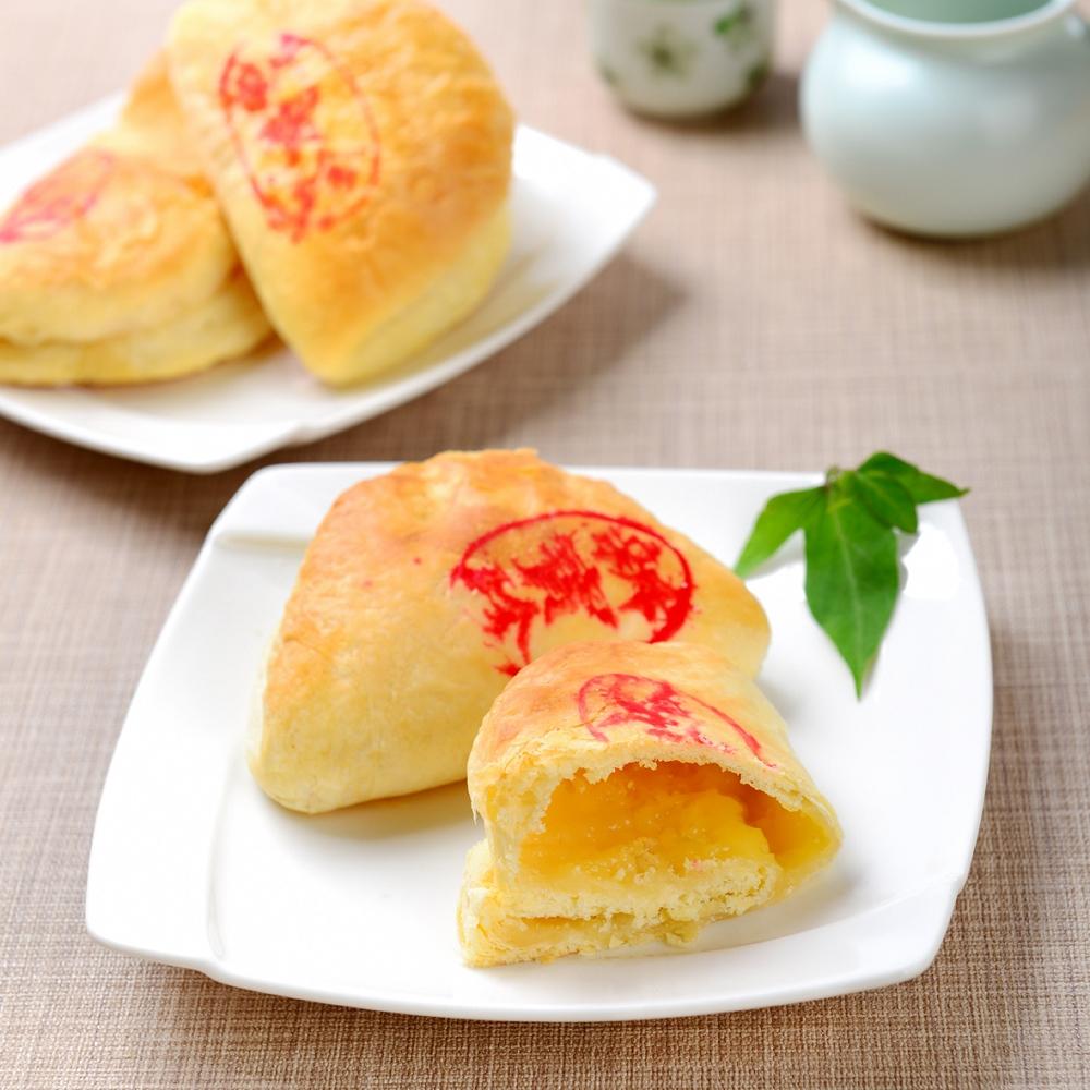 新寶珍餅舖 正宗蒜頭餅禮盒x2盒(10入/盒)